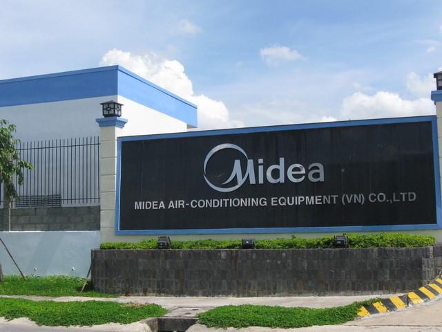 Tâp đoàn Midea trong khu công nghiệp Mỹ Phước