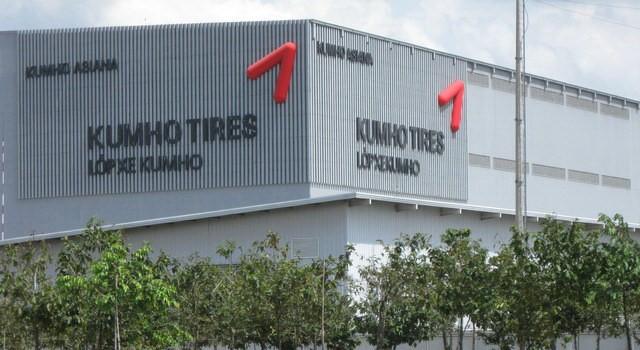 Tập đoàn Kumho Tires trong khu công nghiệp